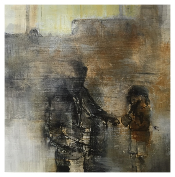 Rigby, Tonie (1955 – ) Man & Boy - Trent Art