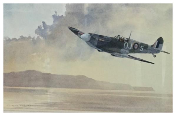 Taylor, Ivan (1946 – ) Spitfire - Trent Art
