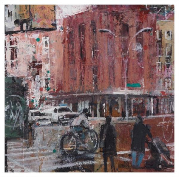 Bhatt, Akash (1972 - ) Sidewalk II - Trent Art