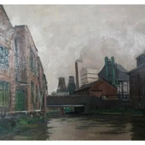 Taylor, Ivan (1946 – ) Canal at Hanley circa 1959
