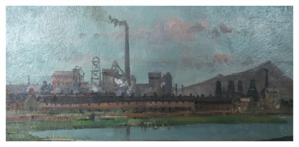 Taylor, Ivan (1946 – ) Fenton Manor Pool - Trent Art