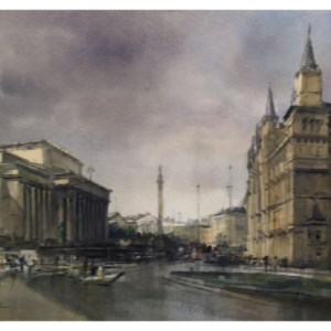 Taylor, Ivan (1946 – ) Liverpool, St Georges Hall & The Walker Gallery
