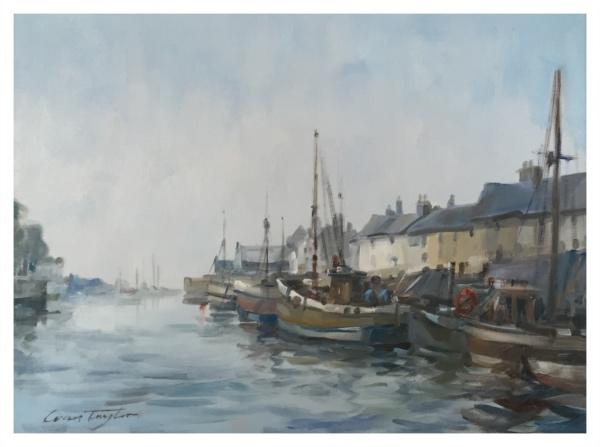 Taylor, Ivan (1946 – ) Seahouses, Northumberland - Trent Art
