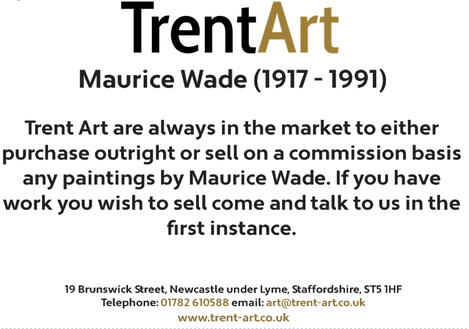 maurice wade paintings for sale