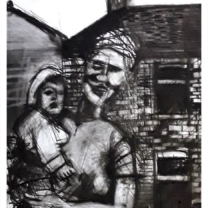 Pearsall, Ian R. (1967 – ) Mother & Child