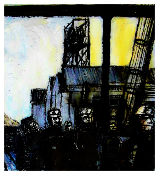 Pearsall, Ian R. (1967 – ) Miners - Trent Art