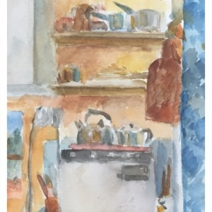Howard, Ghislaine (1953 – ) Kettle, Pots and Pans, Russell Road