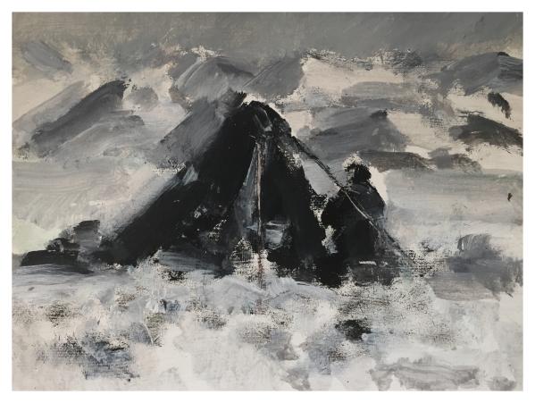 Howard, Ghislaine (1953 – ) After Captain Scott - Dr Wilson on Beardmore Glacier 1912 - Trent Art