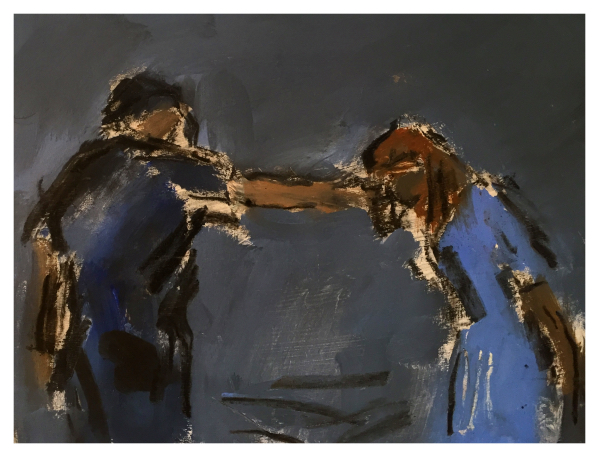 Howard, Ghislaine (1953 – ) Study for Give Drink to the Thirsty - Trent Art