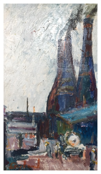 England, Frederick J NDD ATC (London) MFPS (1939 – ) James Kent Ltd - Trent Art