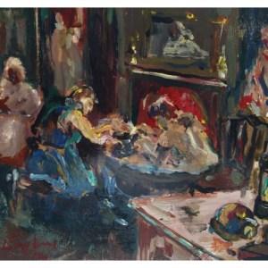 England, Frederick J NDD ATC (London) MFPS (1939 – ) Bath after Shift, Hanley Deep