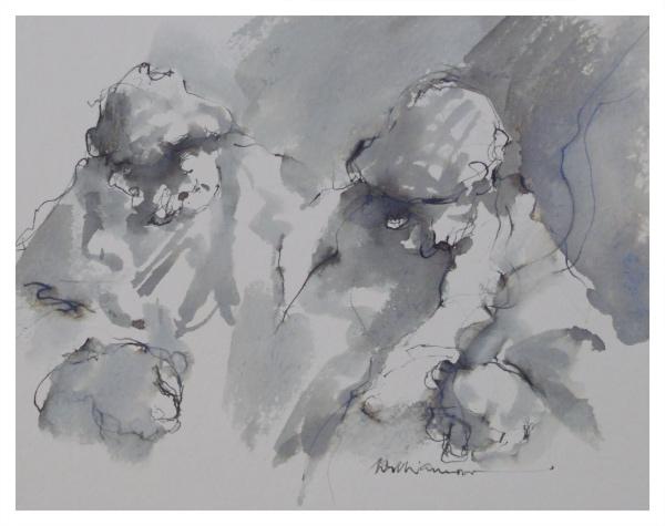Williamson, Lawrie (1932 – 2017) Wondering - Trent Art