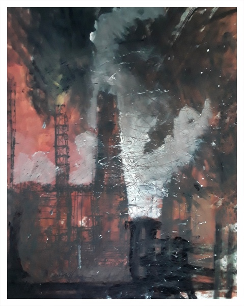 Pearsall, Ian R. (1967 – ) Steel I - Trent Art
