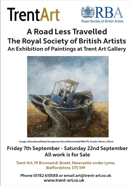A Road Less Travelled The Royal Society of British Artists At Trent Art Gallery