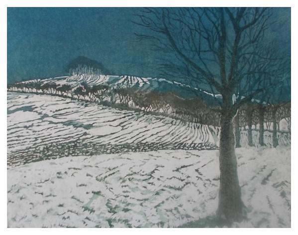 Halsby, Miranda RBA (1948 - ) Winter - Trent Art