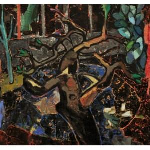 Yates, Anthony RBA RBSA (1957 – ) Succulent Night