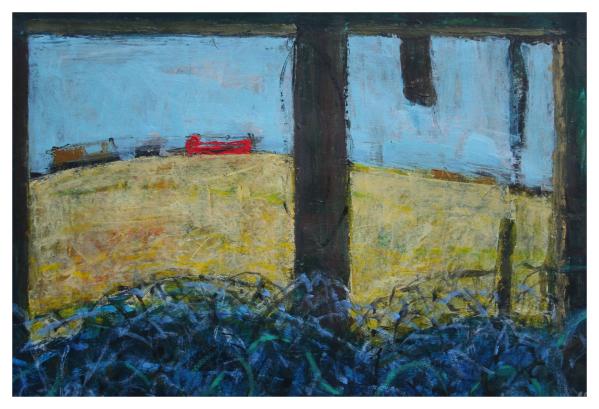 Tidnam, Nick PRBA NEAC (1941 - ) From the Old Fisherman's Hut - Trent Art
