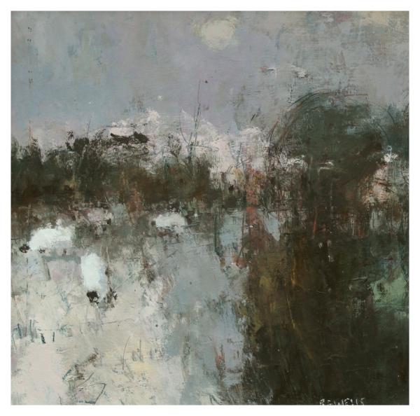 Wells, Robert E RBA NEAC (1956 - ) Frozen Field - Trent Art