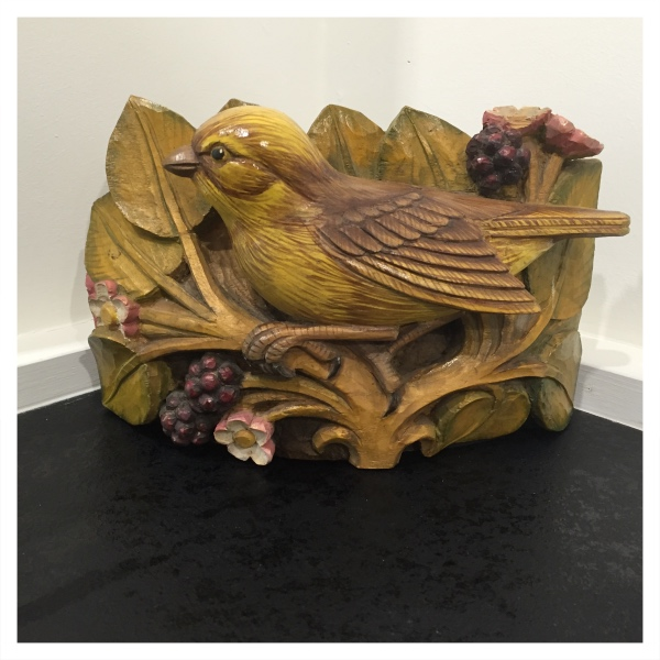 Clarkson, Jack (1906-1986) Sparrow Woodcarving - Trent Art
