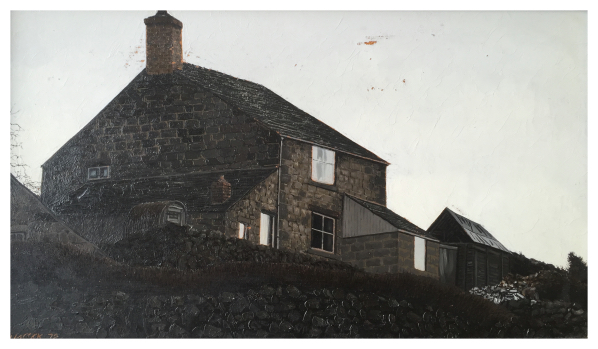 Simcock, Jack (1929-2012) Rockside Cottage Mow Cop - Trent Art