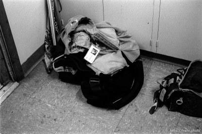 Trent's camera bag. Scenes around the Daily Herald.