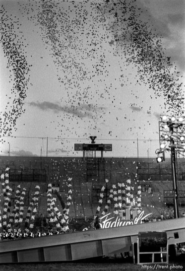 Stadium of Fire show.