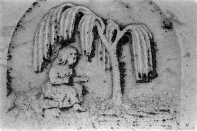 Grave detail.