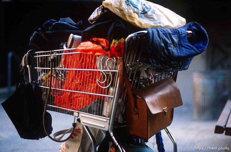 Someone's worldly possessions, november 1987.