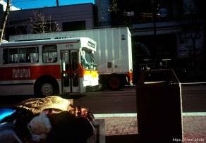Street scene, december 1988.