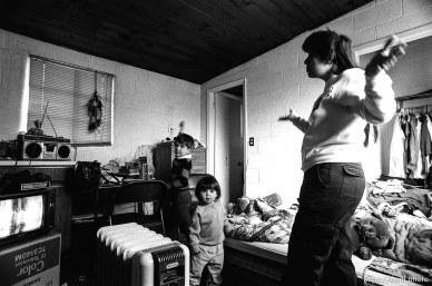 People living in the Hideaway Motel.