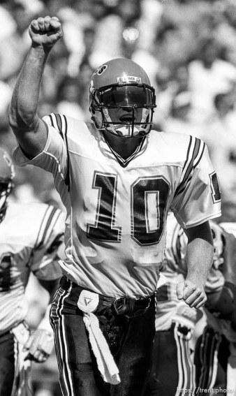 San Diego State quarterback McGwire.