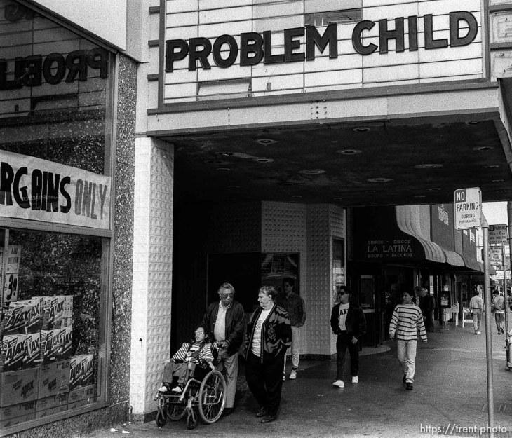 Problem child, march 1991.