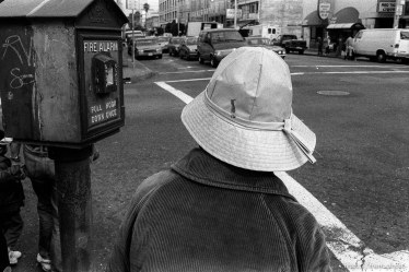 Lady's hat in the Mission District