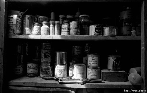 Jars in Rondo's shop