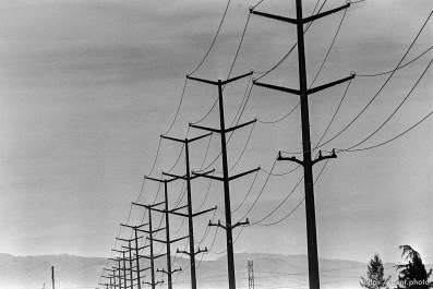 Powerlines along San Ramon Creek