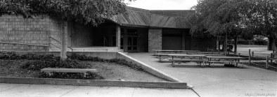 Lunch area at Walt Disney Elementary School.
