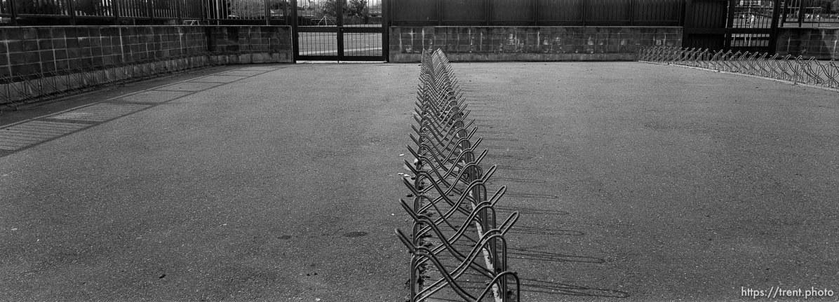 Bike racks at Pine Valley Intermediate
