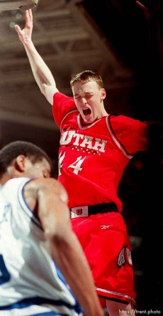 Keith Van Horn at Utah vs Kentucky, NCAA Tournament