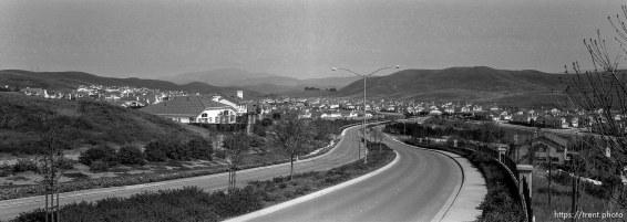 Subdivision along Old Ranch Road