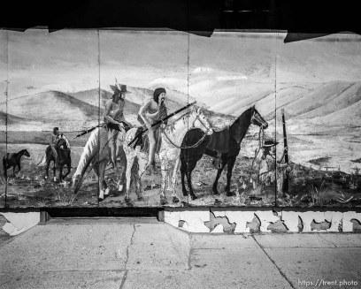 pioneer mural