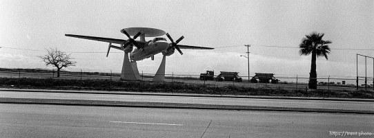 AWAC on display at Miramar Naval Air Station.