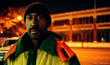 Curtis Herbert, homeless in Salt Lake City.