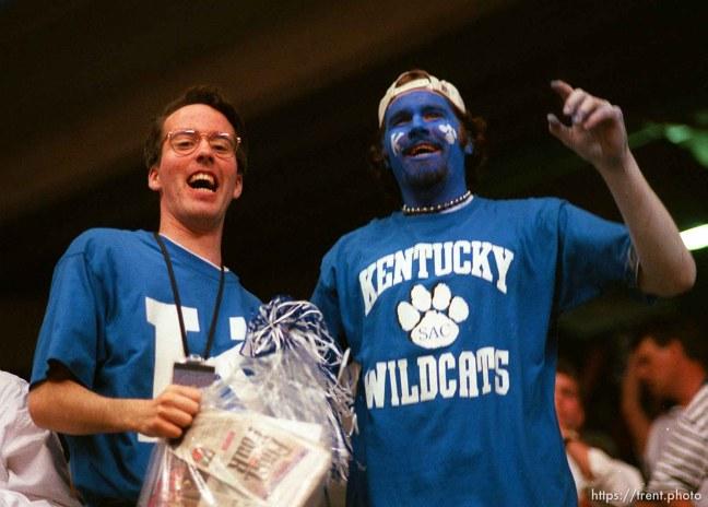 Kentucky fans at the Final Four.