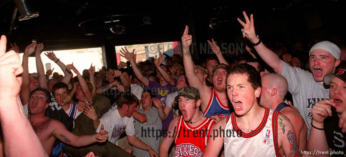 Crowd at Madball at Brick's Club.
