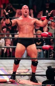 Goldberg at WCW's Bash at the Beach.
