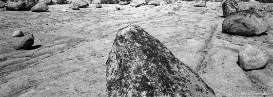 Rocks at Sword Lake