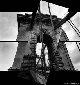 Sequence of the Szechenyi Bridge.