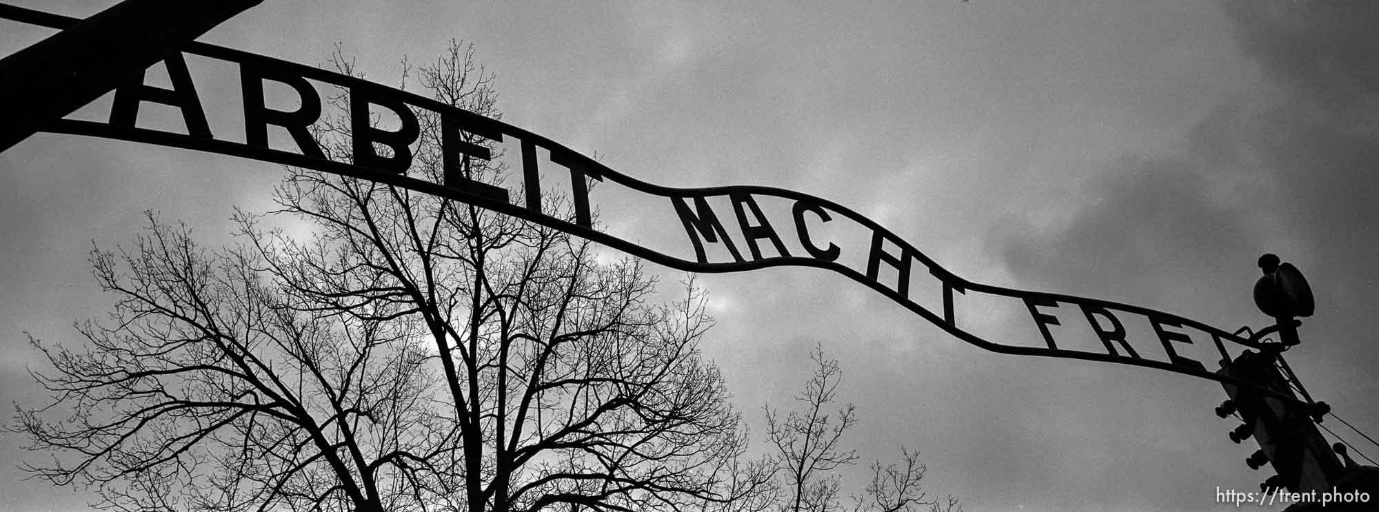 Arbeit Mact Frei sign. Auschwitz/Birkenau