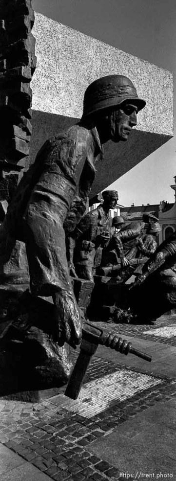 Warsaw Uprising memorial series.