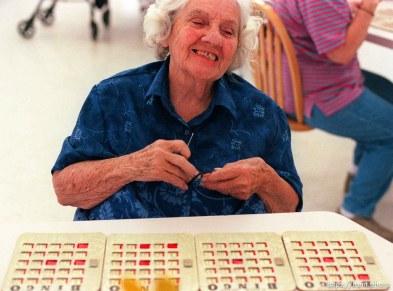 ? playing Bingo in Kearns.